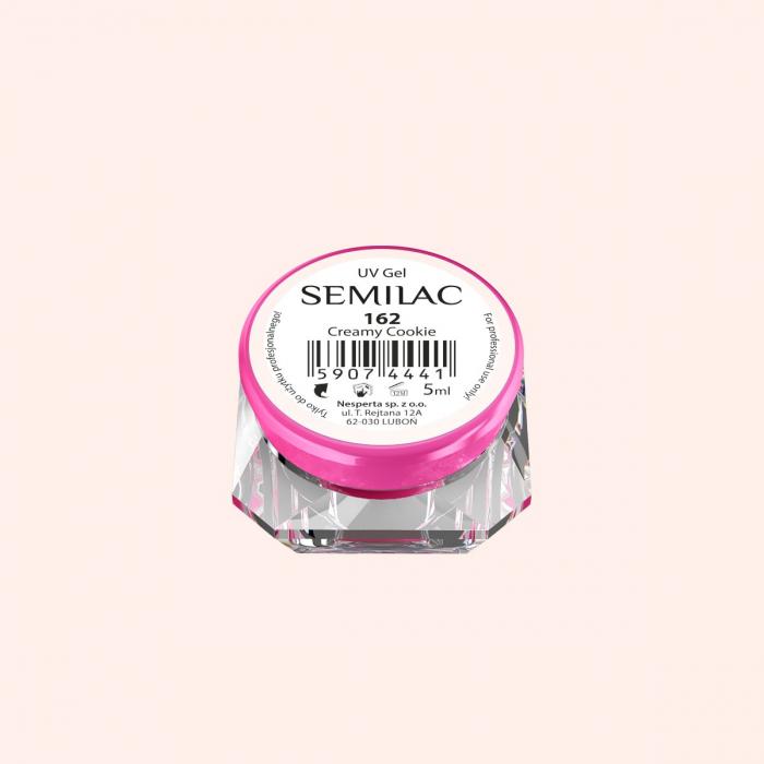 Gel Color Semilac 162 Creamy Cookie [0]