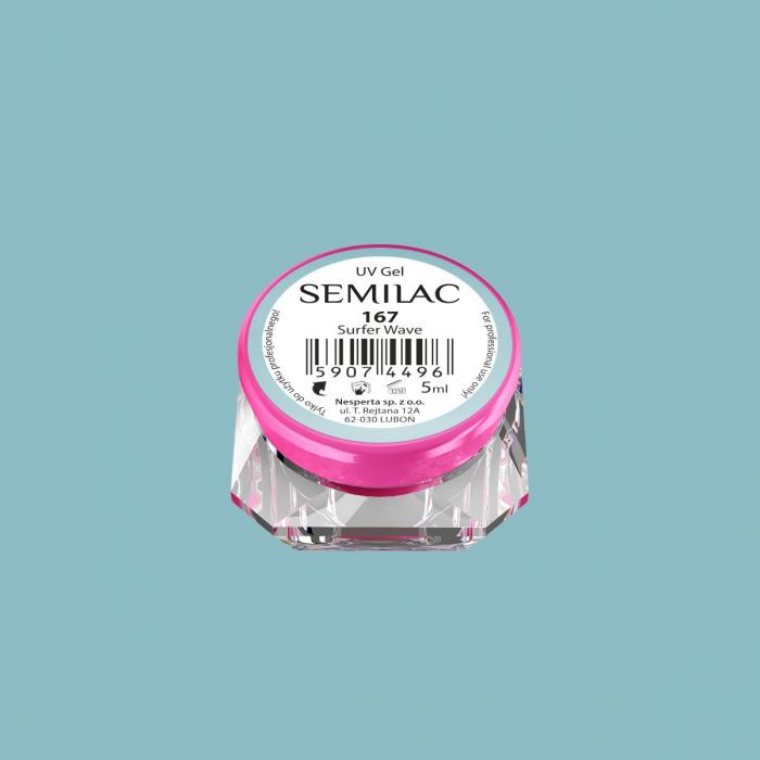 Gel Color Semilac 167 Surfer Wave [0]