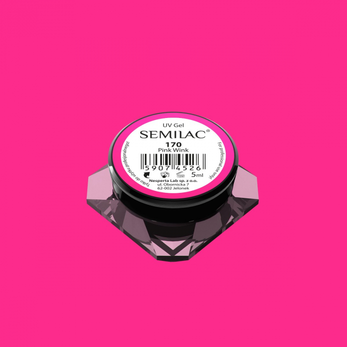 Gel Color Semilac 170 Pink Wink [0]