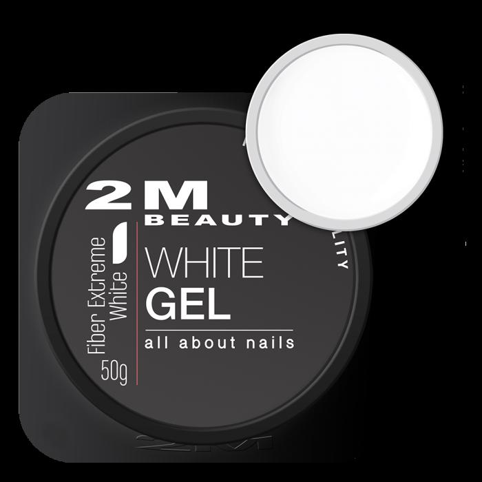 Gel UV 2M Fiber Extreme White [0]