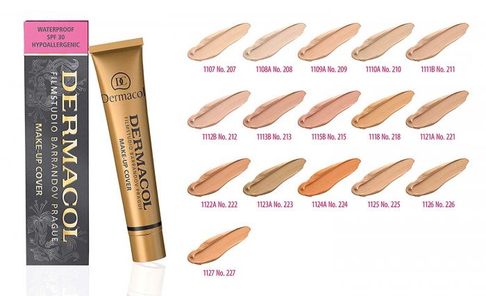 Fond de ten Dermacol Make-up Cover SPF 30 30 g [1]