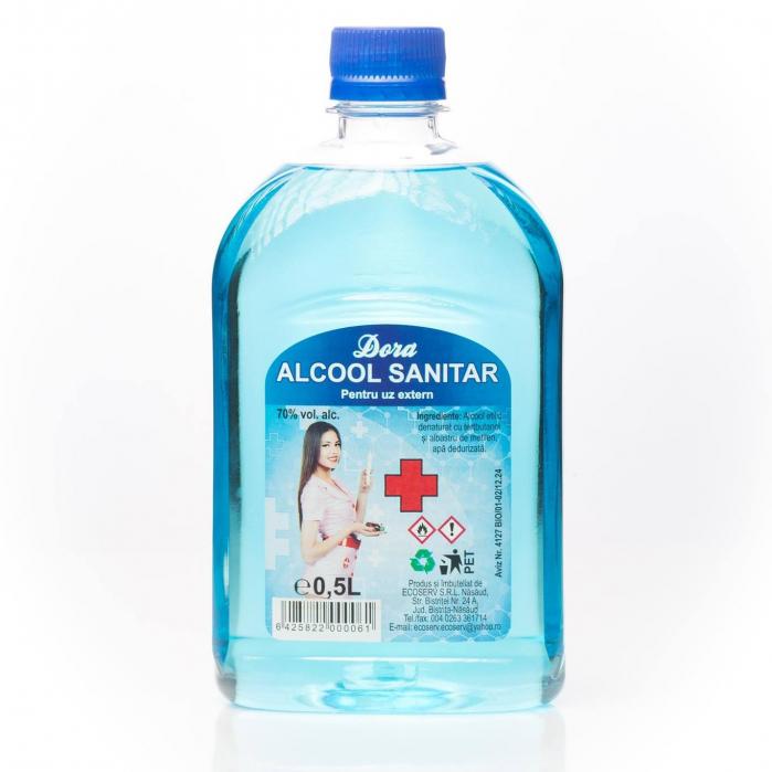 Alcool sanitar Dora alc. 70% vol. 500 ml [0]