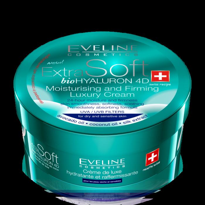 Crema Eveline ExtraSoft Bio Hyaluron 4D 200 ml [0]