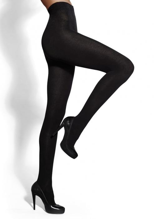 Ciorapi bumbac Marilyn Arctica Confort Top 140 den cu talie inalta [0]
