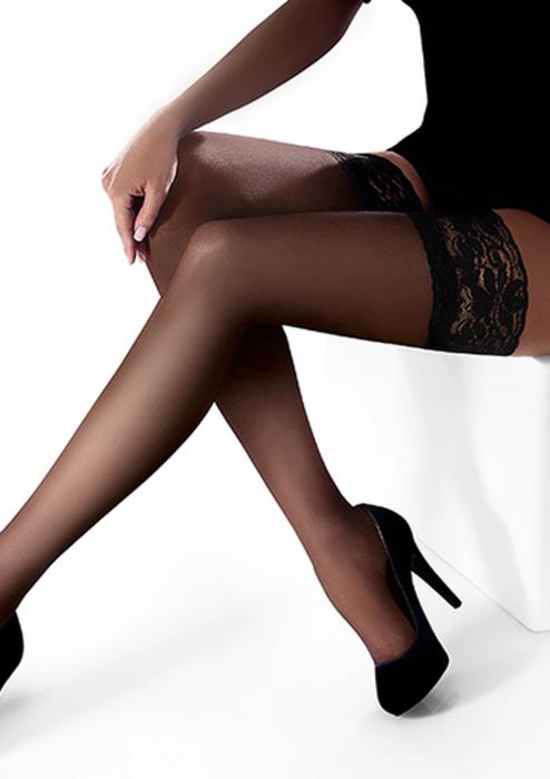 Ciorapi cu banda adeziva Marilyn Erotic 15 den [1]