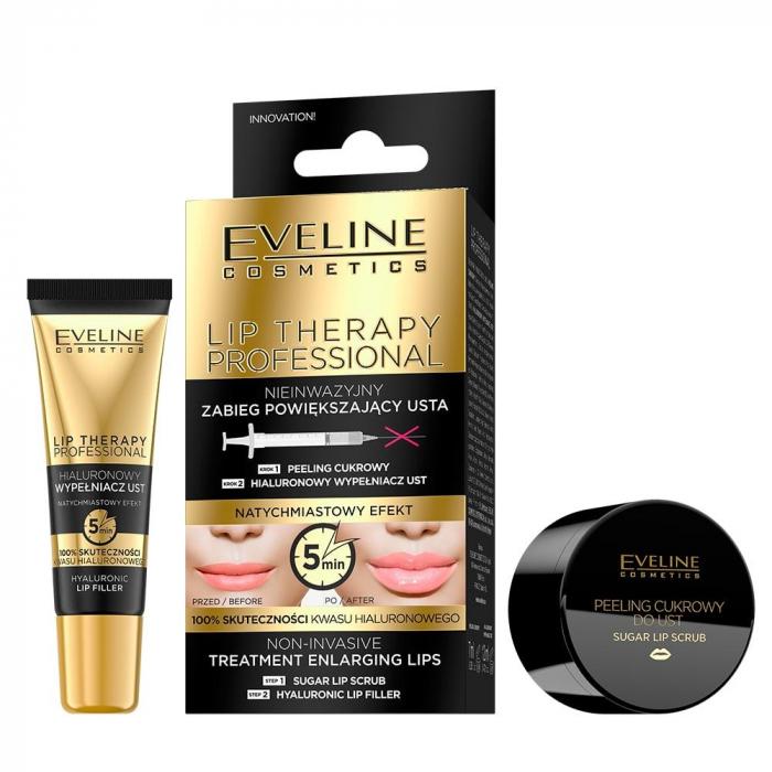 Tratament pentru volumul buzelor non-invaziv 2 in 1 Eveline Lip Therapy [0]