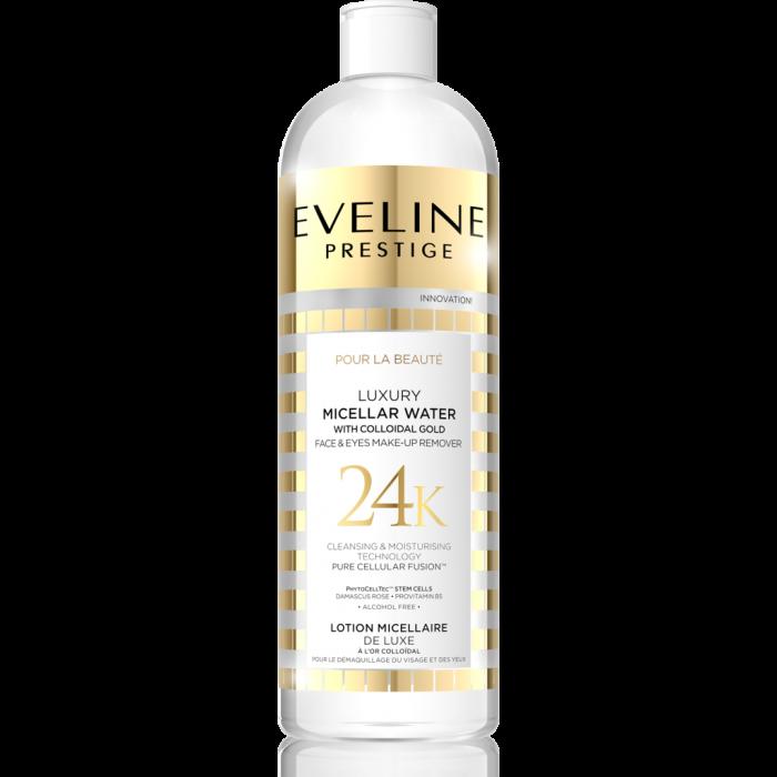 Apa micelara demachianta Eveline Luxury 24K 500 ml [0]