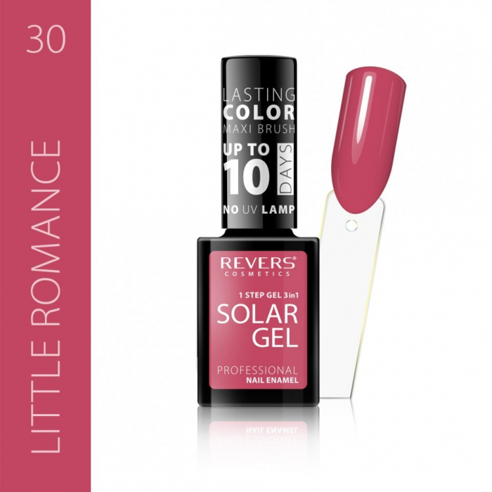 Lac de unghii Solar Gel 3 in 1 Revers 30 Little Romance 12 ml [0]