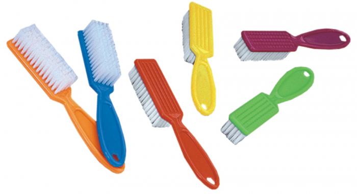 Periuta cu maner pentru curatarea prafului de pe unghii, mica [1]