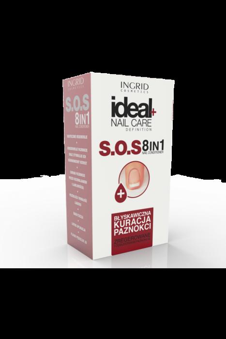 Tratament unghii SOS 8 in 1 Ingrid 10ml [0]