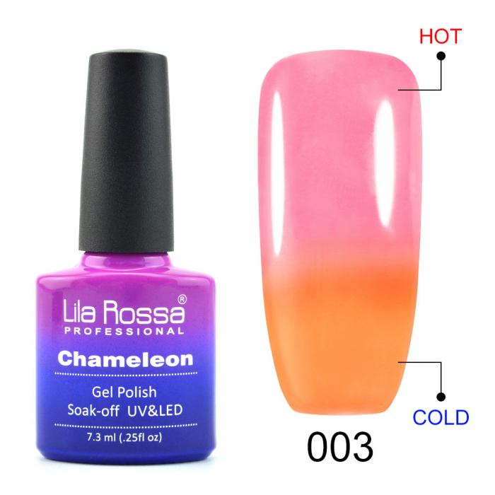 Oja semipermanenta Lila Rossa Chameleon 003 7.3 ml [0]
