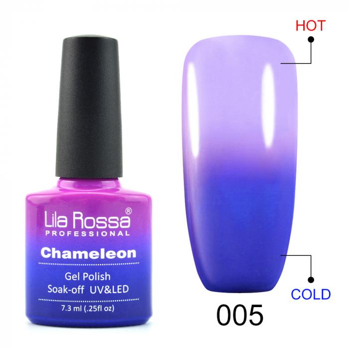 Oja semipermanenta Lila Rossa Chameleon 005 7.3 ml [0]