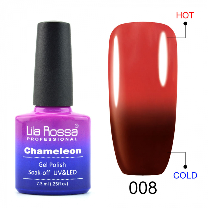 Oja semipermanenta Lila Rossa Chameleon 008 7.3 ml [0]