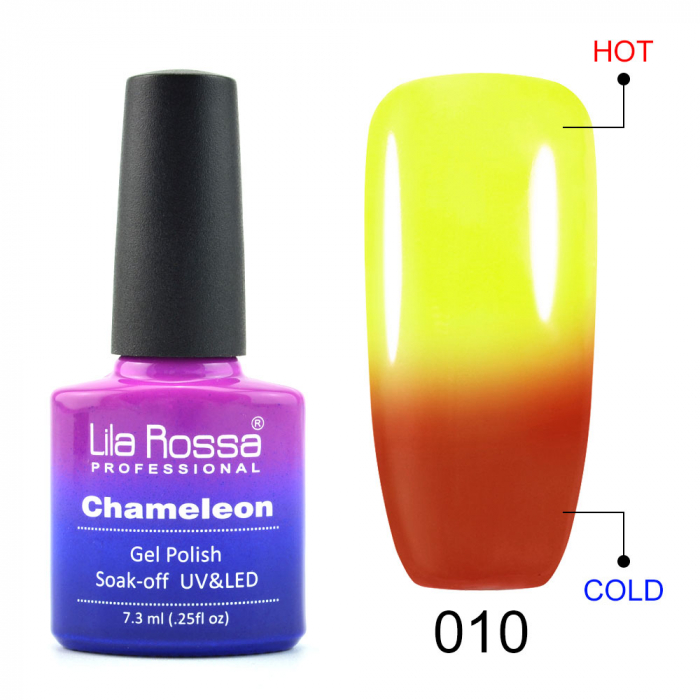 Oja semipermanenta Lila Rossa Chameleon 010 7.3 ml [0]