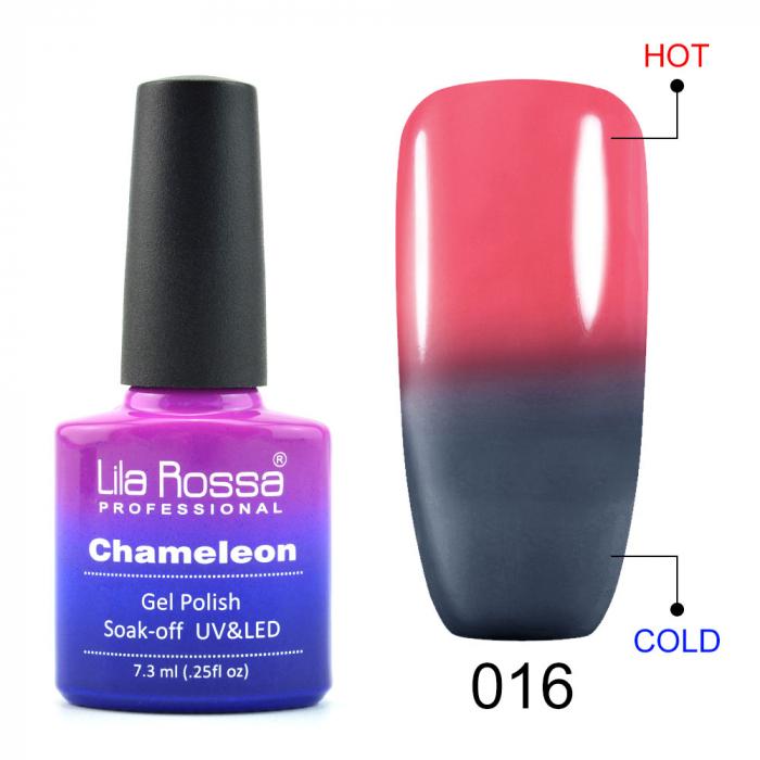 Oja semipermanenta Lila Rossa Chameleon 016 7.3 ml [0]