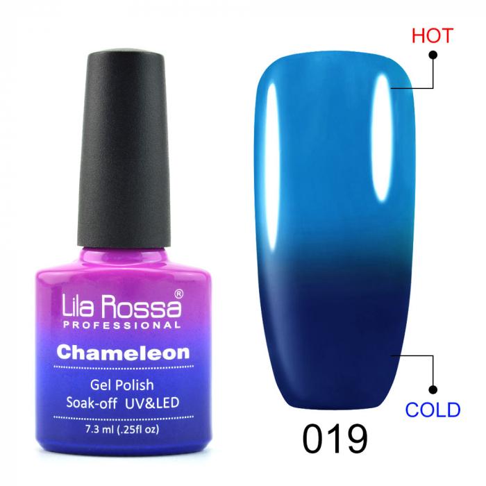 Oja semipermanenta Lila Rossa Chameleon 019 7.3 ml [0]