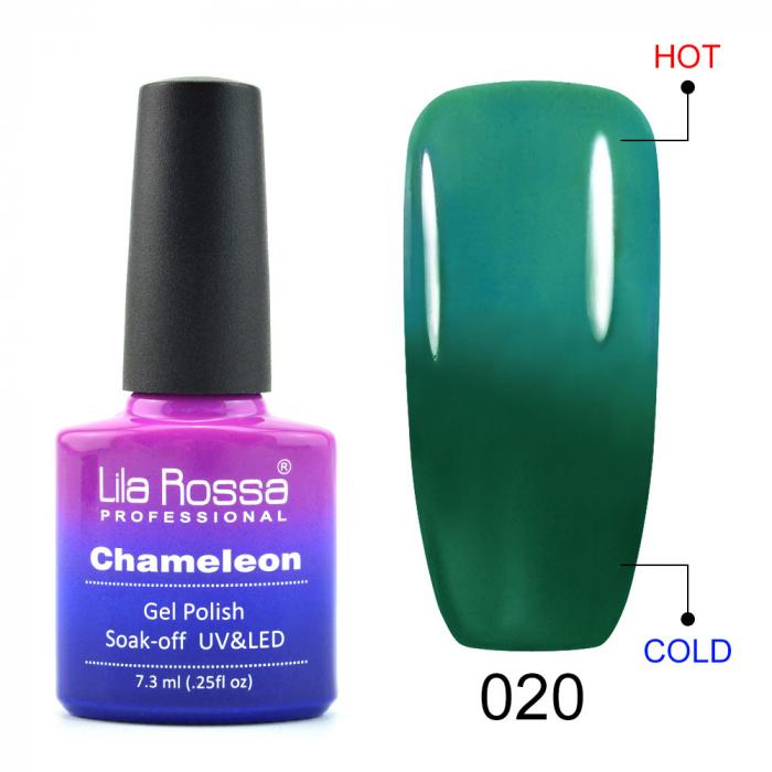 Oja semipermanenta Lila Rossa Chameleon 020 7.3 ml [0]