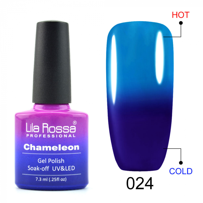 Oja semipermanenta Lila Rossa Chameleon 024 7.3 ml [0]