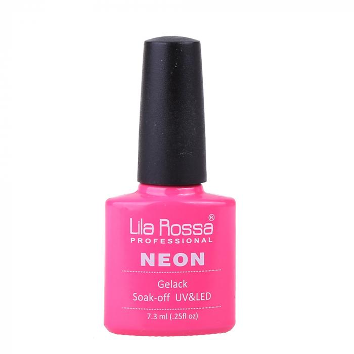 Oja semipermanenta Lila Rossa NEON 006 7.3 ml [0]