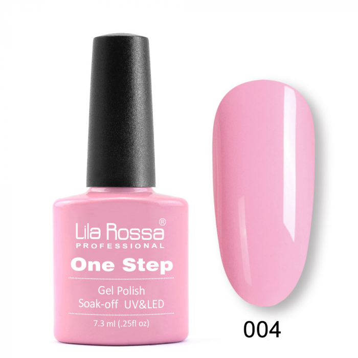 Oja semipermanenta Lila Rossa One Step 004 7.3 ml [0]