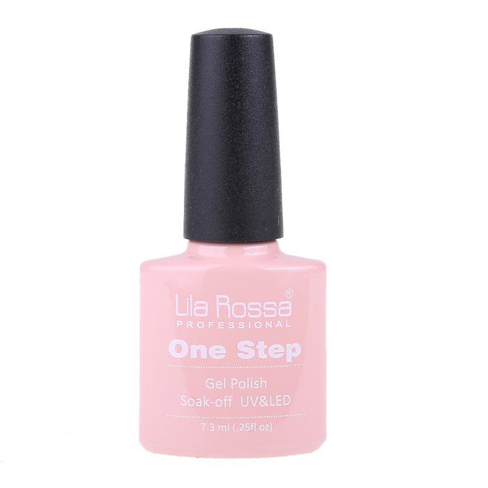 Oja semipermanenta Lila Rossa One Step 007 7.3 ml [3]