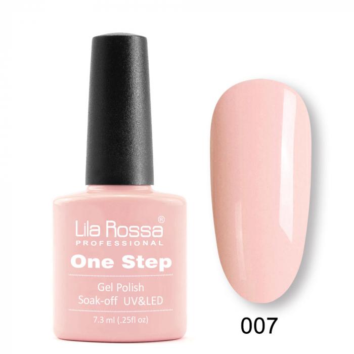 Oja semipermanenta Lila Rossa One Step 007 7.3 ml [0]