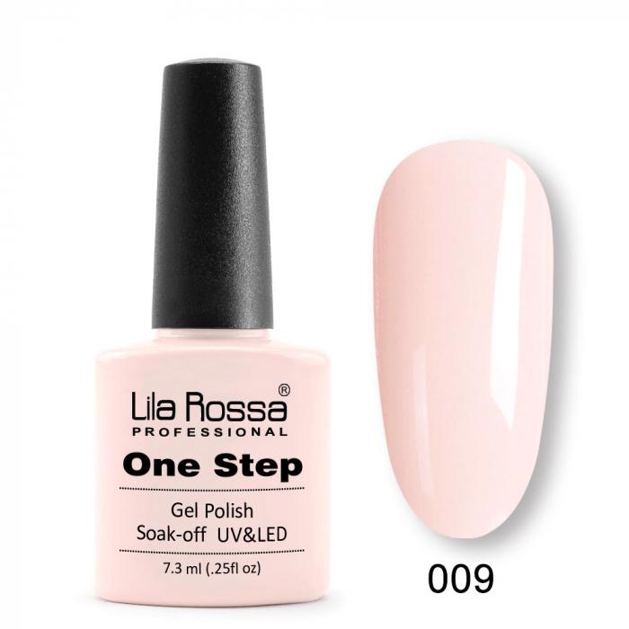 Oja semipermanenta Lila Rossa One Step 009 7.3 ml [0]