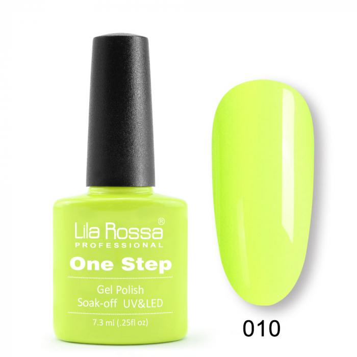 Oja semipermanenta Lila Rossa One Step 010 7.3 ml [0]