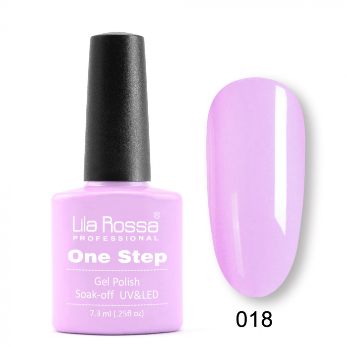 Oja semipermanenta Lila Rossa One Step 018 7.3 ml [0]