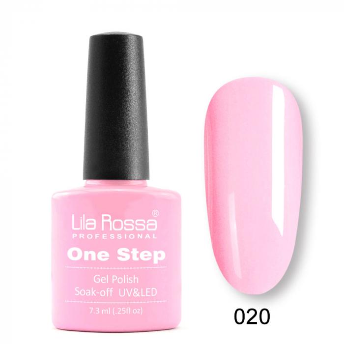 Oja semipermanenta Lila Rossa One Step 020 7.3 ml [0]