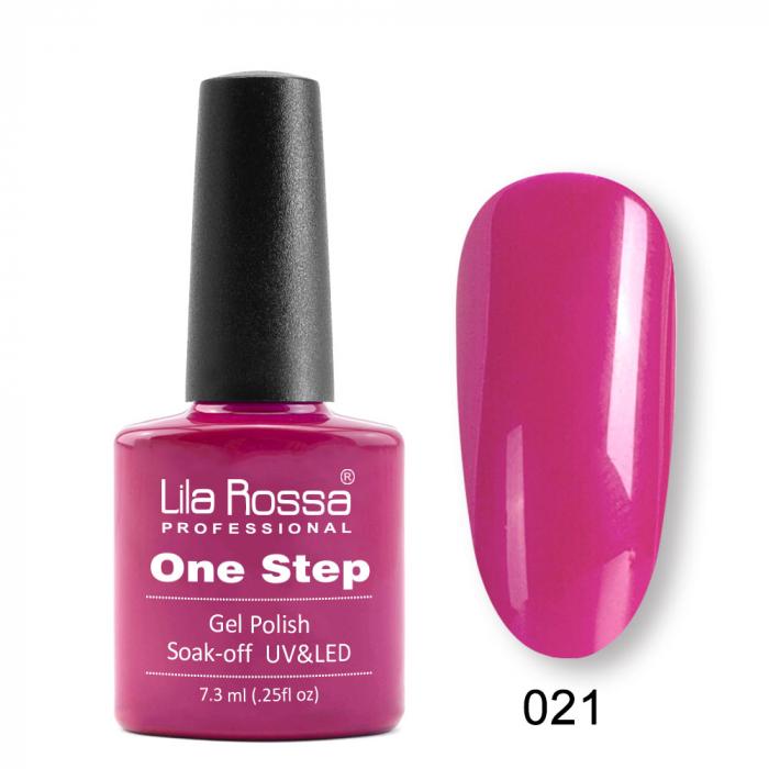 Oja semipermanenta Lila Rossa One Step 021 7.3 ml [0]