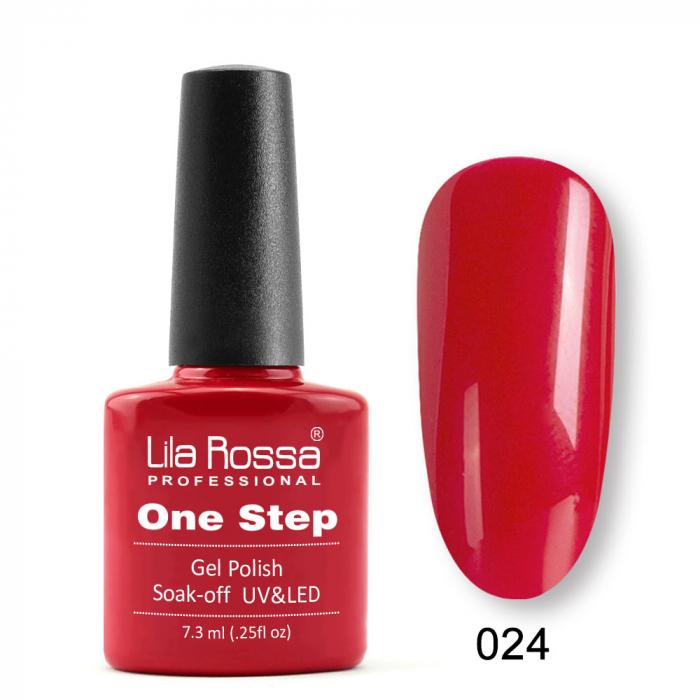 Oja semipermanenta Lila Rossa One Step 024 7.3 ml [0]