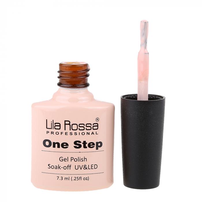 Oja semipermanenta Lila Rossa One Step 025 7.3 ml [2]