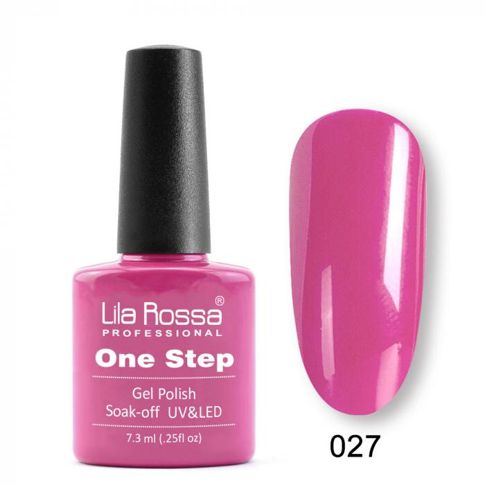 Oja semipermanenta Lila Rossa One Step 027 7.3 ml [0]