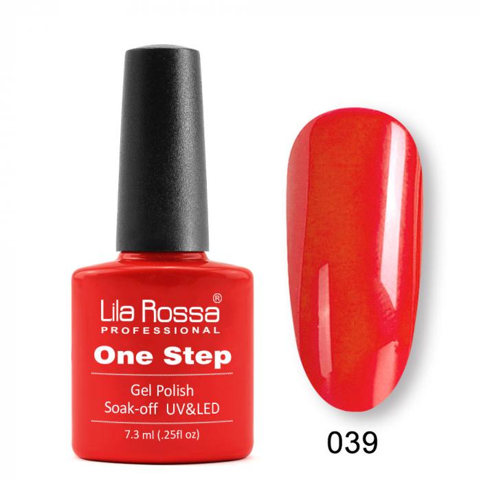 Oja semipermanenta Lila Rossa One Step 039 7.3 ml [0]