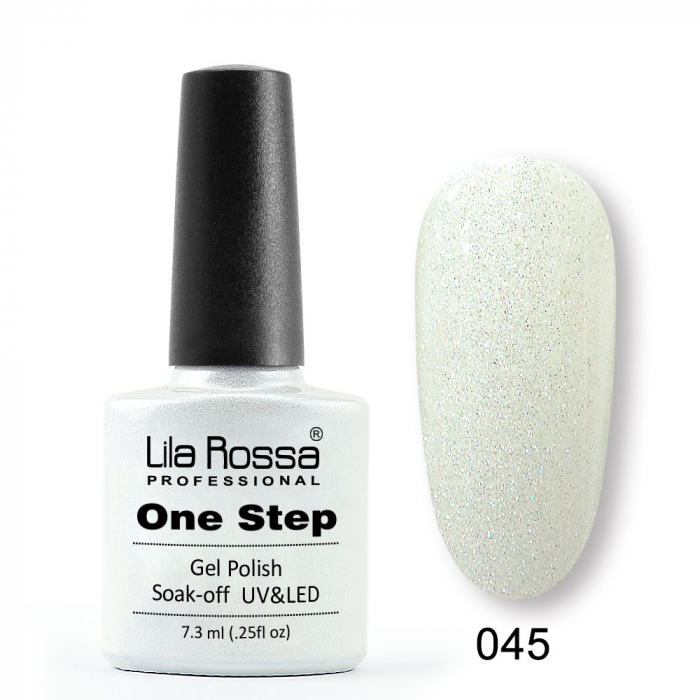 Oja semipermanenta Lila Rossa One Step 045 7.3 ml [0]