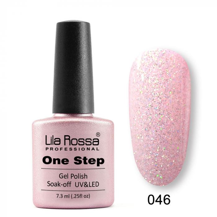 Oja semipermanenta Lila Rossa One Step 046 7.3 ml [0]