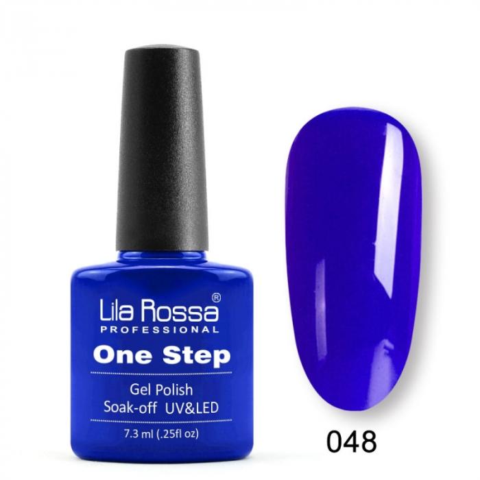Oja semipermanenta Lila Rossa One Step 048 7.3 ml [0]
