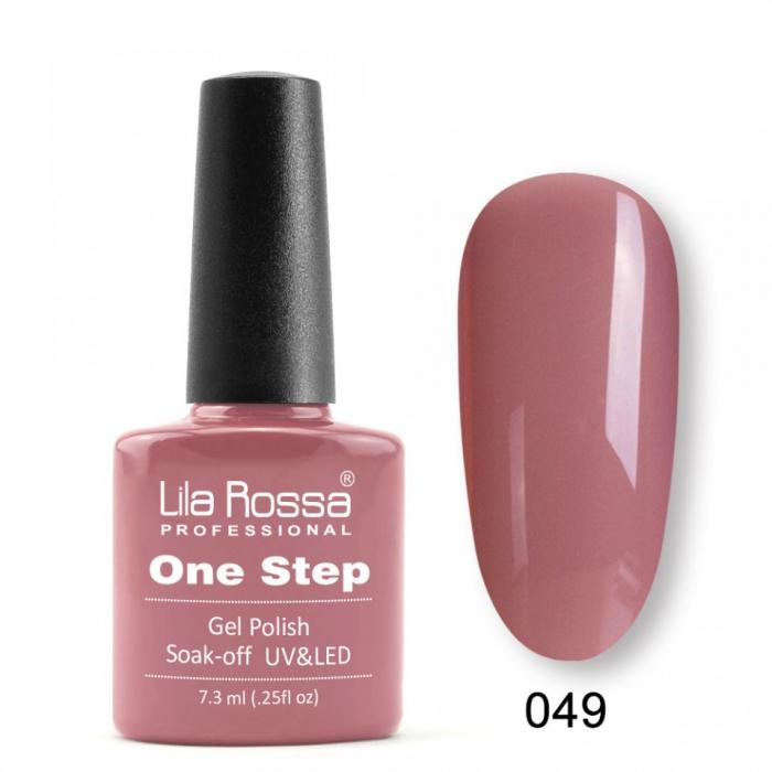 Oja semipermanenta Lila Rossa One Step 049 7.3 ml [0]