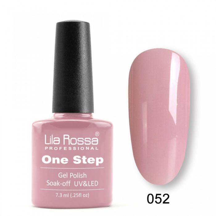 Oja semipermanenta Lila Rossa One Step 052 7.3 ml [0]