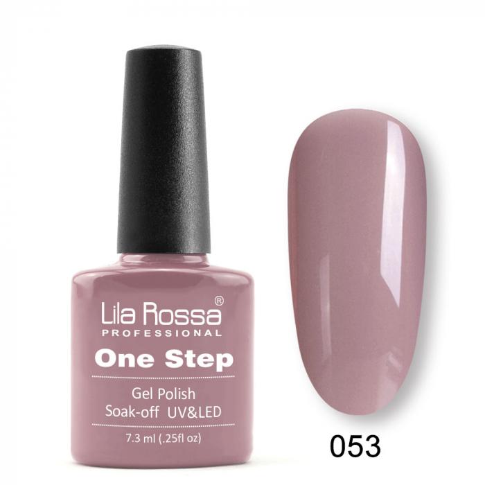 Oja semipermanenta Lila Rossa One Step 053 7.3 ml [0]
