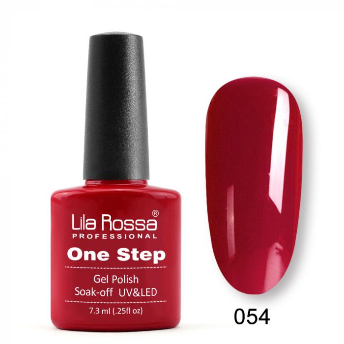Oja semipermanenta Lila Rossa One Step 054 7.3 ml [0]