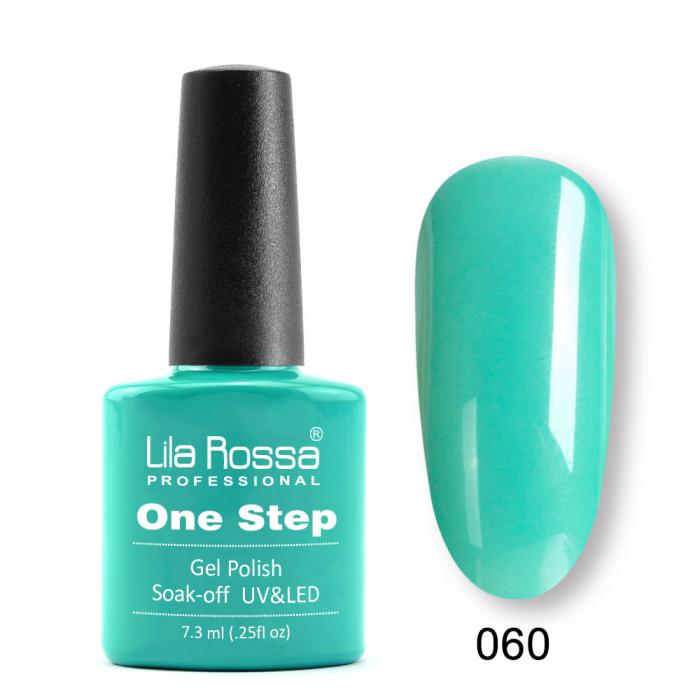 Oja semipermanenta Lila Rossa One Step 060 7.3 ml [0]
