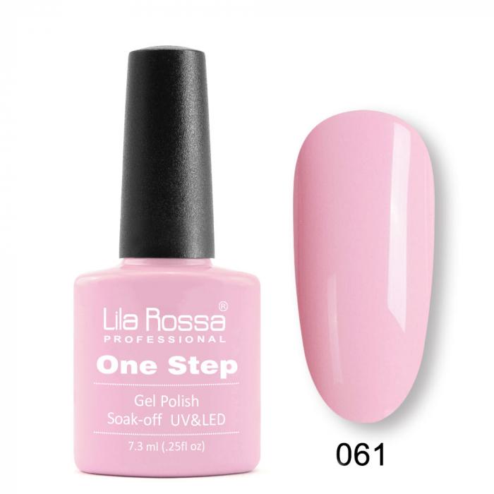 Oja semipermanenta Lila Rossa One Step 061 7.3 ml [0]
