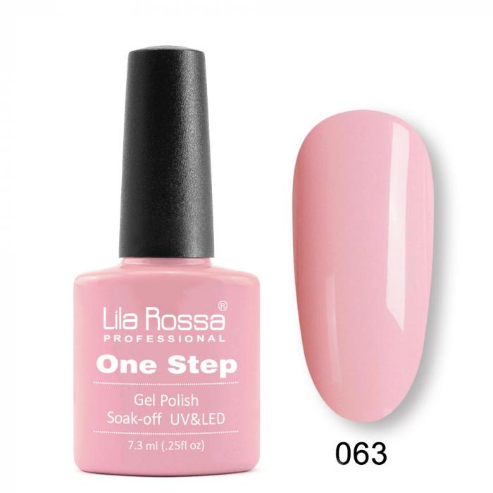 Oja semipermanenta Lila Rossa One Step 063 7.3 ml [0]