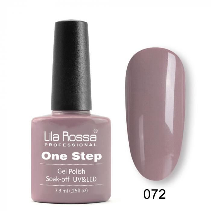Oja semipermanenta Lila Rossa One Step 072 7.3 ml [0]