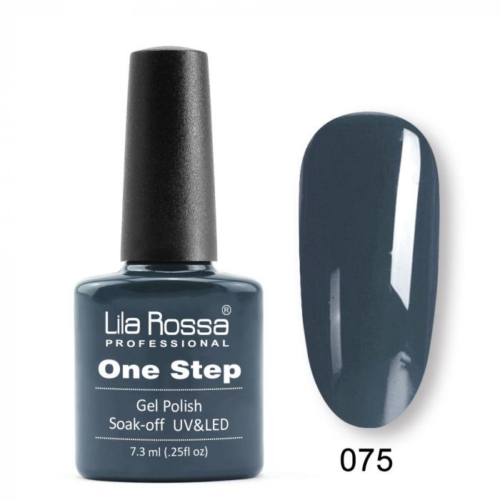 Oja semipermanenta Lila Rossa One Step 075 7.3 ml [0]