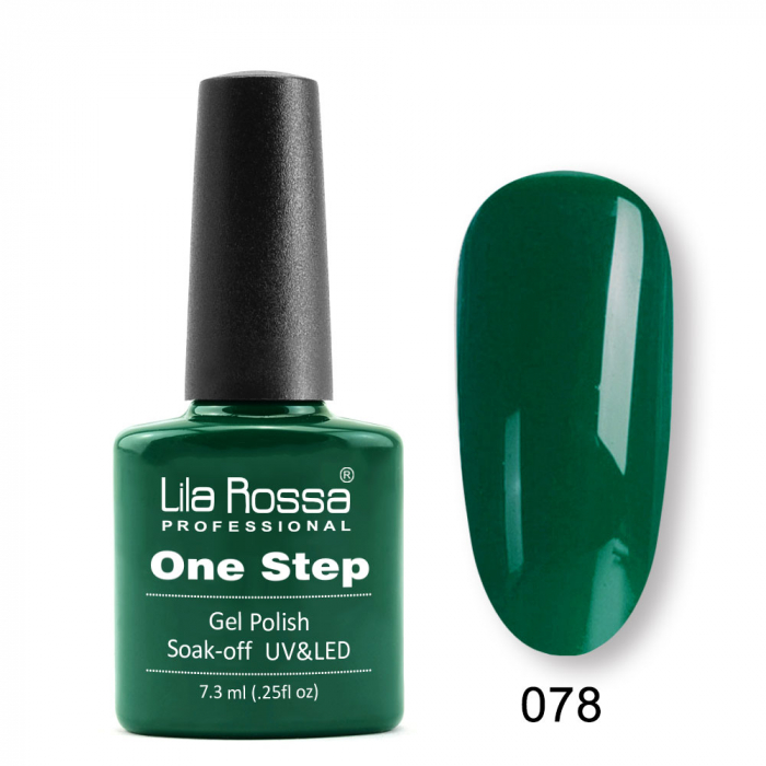 Oja semipermanenta Lila Rossa One Step 078 7.3 ml [0]