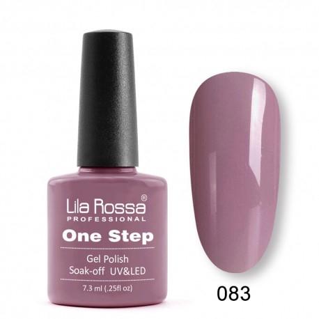 Oja semipermanenta Lila Rossa One Step 083 7.3 ml [0]