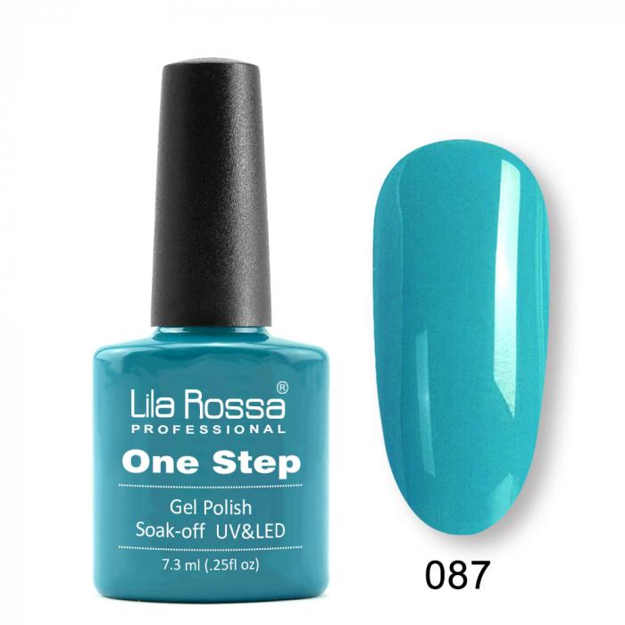 Oja semipermanenta Lila Rossa One Step 087 7.3 ml [0]